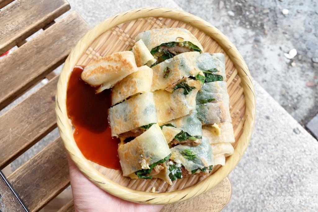 【台中北區】三喜蛋餅:一中商圈超人氣蛋餅店,口味高達15種讓你挑 @飛天璇的口袋