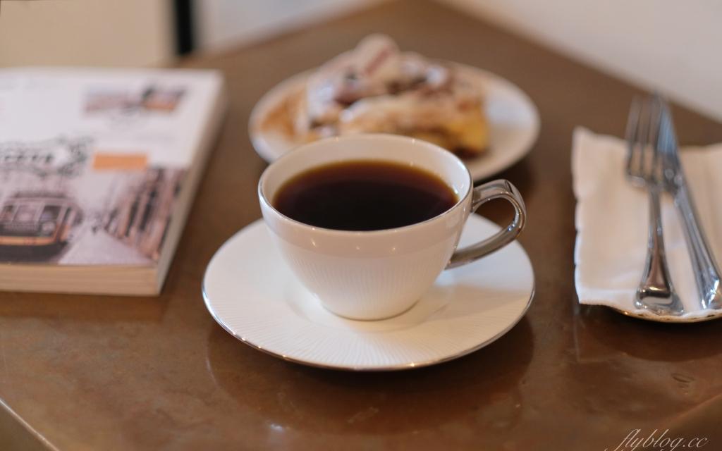 【台中西區】拿翹咖啡:肉桂捲控推薦!隱身於勤美商圈巷弄裡的咖啡館 @飛天璇的口袋