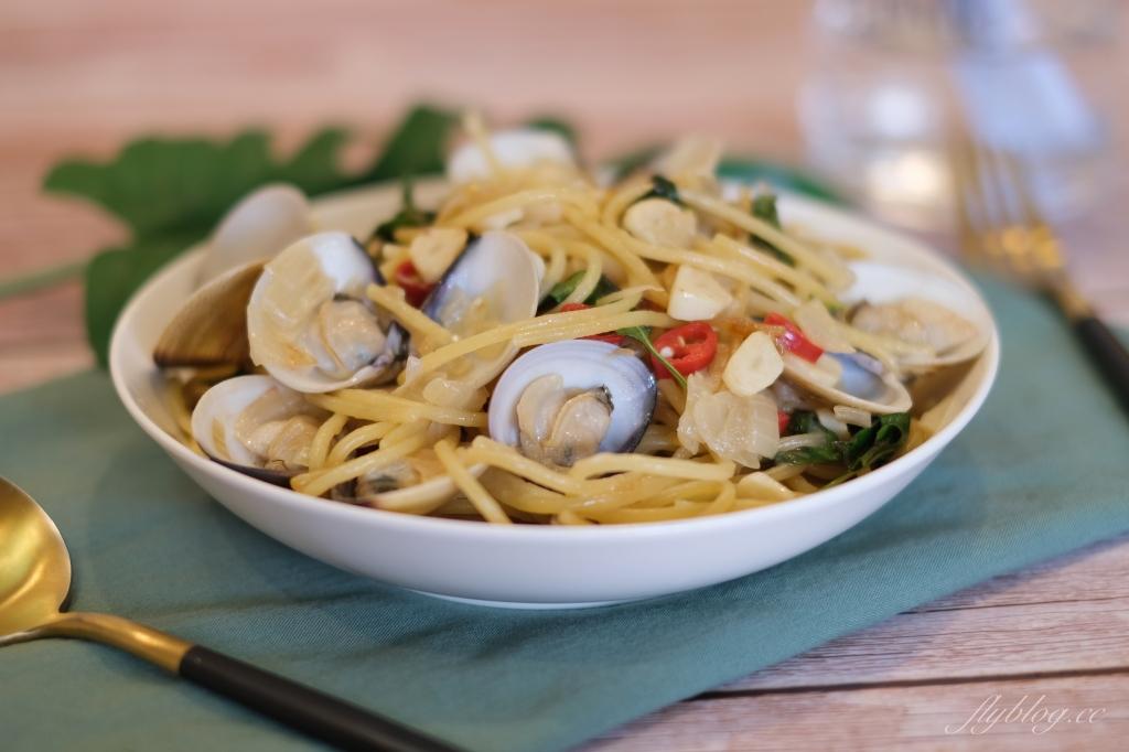 【食譜分享】白酒蛤蠣義大利麵:專業廚師教我的白酒蛤蠣義大利麵做法 @飛天璇的口袋