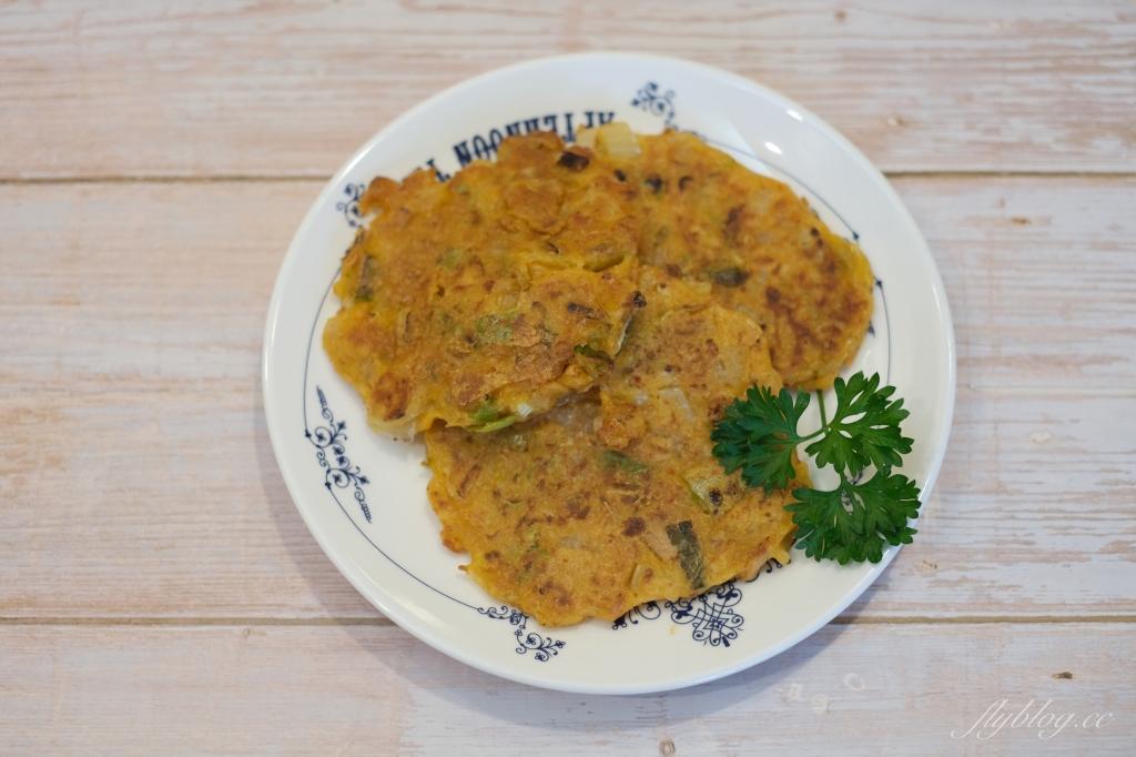 韓式煎餅做法:複刻尹食堂裡的泡菜鮪魚煎餅,這樣做一定會很酥脆好吃 @飛天璇的口袋
