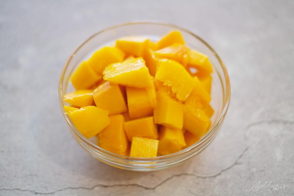 食譜冷享 芒果冰沙 5分鐘做一杯新鮮芒果冰沙,家裡就是現成的冰果室 @飛天璇的口袋