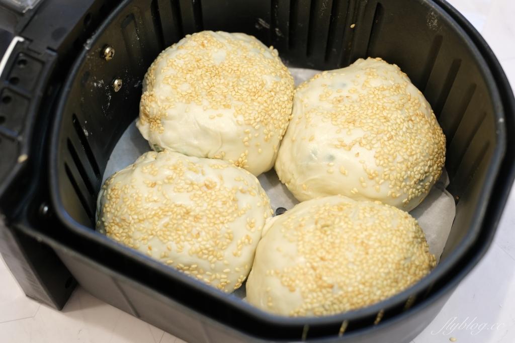 義美蔥油餅胡椒餅:用義美蔥油餅氣炸,夜市胡椒餅直接上桌 @飛天璇的口袋