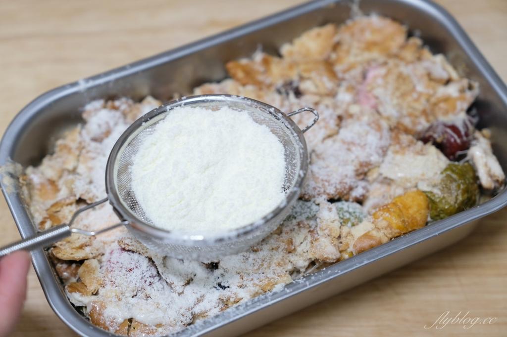 食譜分享|雪Q餅 一鍋到底的好吃雪花酥,不用烤箱也可以輕鬆做甜點 @飛天璇的口袋