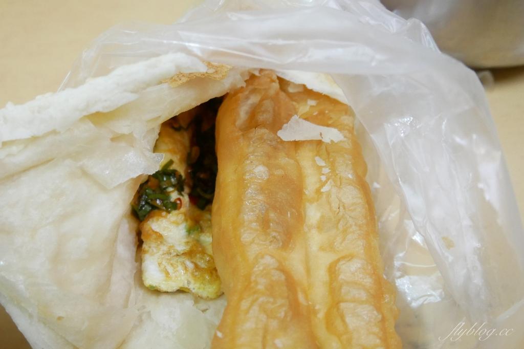 【台中北區】巨人傳統早餐:這個燒餅真的超好吃,完全顛覆我對燒餅的印象 @飛天璇的口袋