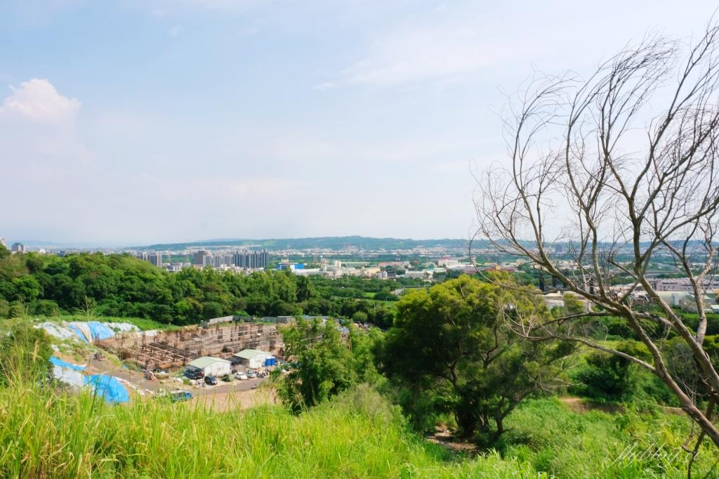【台中烏日】知高圳步道:延途林蔭、石板路和木棧道,輕鬆360度遠眺台中美景 @飛天璇的口袋