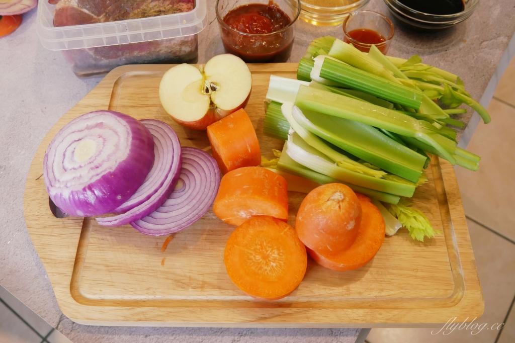 【食譜分享】豬肋排做法~用氣炸烤箱做豬肋排,美式餐廳超人氣料理上桌 @飛天璇的口袋