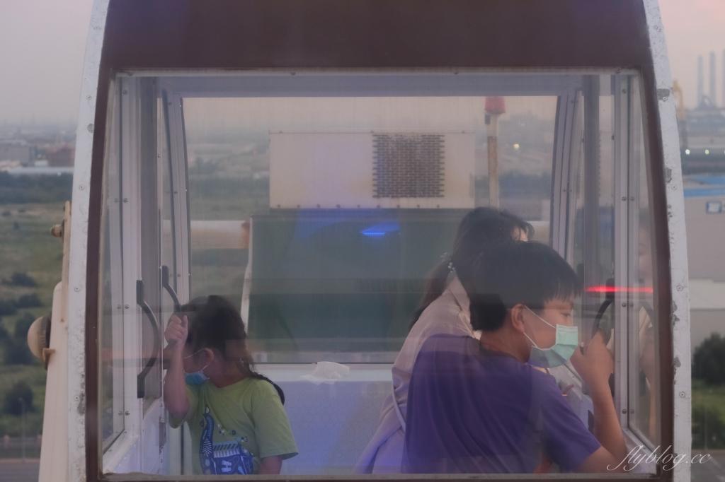 台中梧棲|台中之星摩天輪 台中三井OUTLET~全台最高的臨海摩天輪,瞭望台中港、海景山景以及夕陽 @飛天璇的口袋