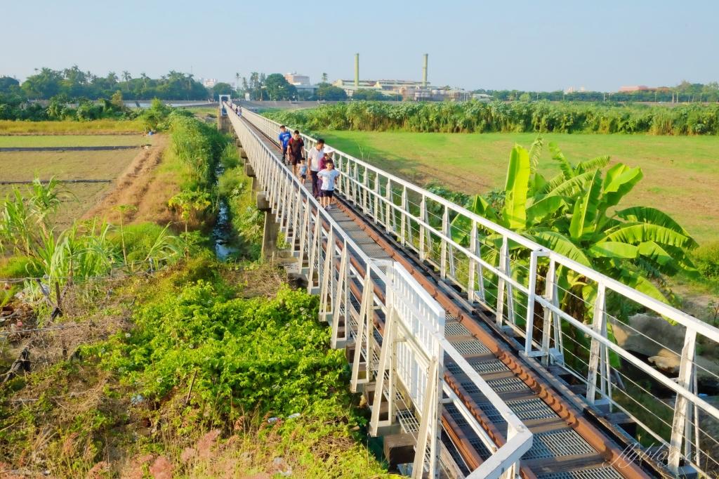 雲林虎尾|虎尾糖廠鐵橋 走過百年歷史,縣定古蹟的IG打卡熱門景點 @飛天璇的口袋