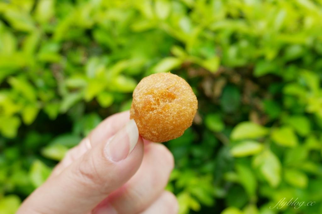 【新竹北區】林家芋泥球:城隍廟超大顆芋泥球,吃得到芋頭纖維和蜂蜜香氣 @飛天璇的口袋