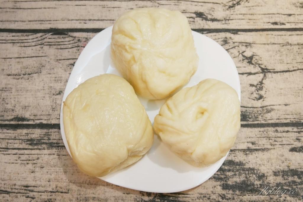 桃園中壢|包好甲蔥燒包:中原夜市人氣美食,外皮比內餡還好吃 @飛天璇的口袋