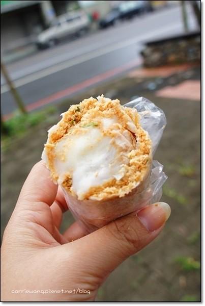 【宜蘭礁溪】吳記花生捲冰淇淋:宜蘭礁溪人氣排隊美食,營業20個年頭傳統好味道 @飛天璇的口袋