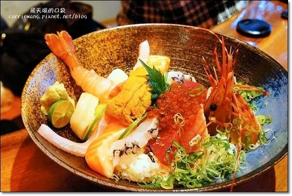 【台中日式餐廳】隱し藏丼飯達人@市政店。丼飯表現不俗,價格也合理 @飛天璇的口袋