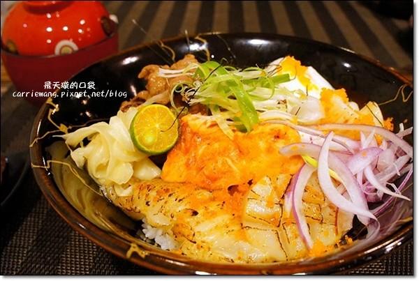 【台中日式餐廳】Huku幸福食尚創作料理。海鮮牛肉丼超澎派,吃了果真會幸福… @飛天璇的口袋