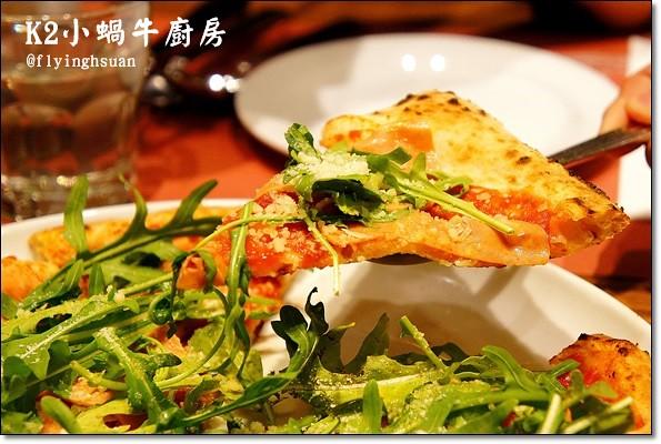 K2小蝸牛廚房。拿坡里AVPN機構認證的披薩,再訪尋找記憶中的味道 @飛天璇的口袋