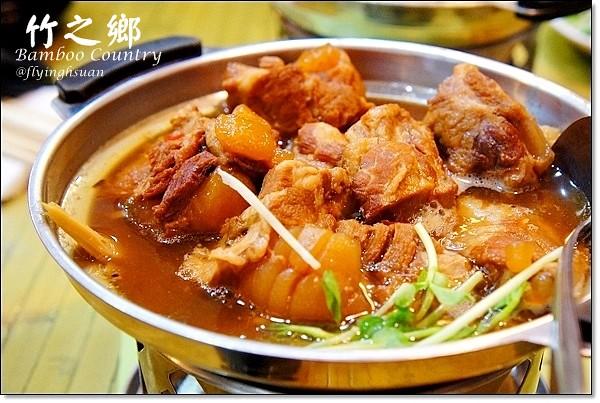 【台中合菜餐廳】竹之鄉。大坑圓環好料理,香酥芋頭鴨最推薦,紅燒耎骨也好吃 @飛天璇的口袋