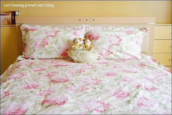 【居家生活分享】法蝶生活館 La Fatte。印花/緹花床罩寢具組,輕輕鬆鬆就將臥室大改造,春天就該如此浪漫 @飛天璇的口袋