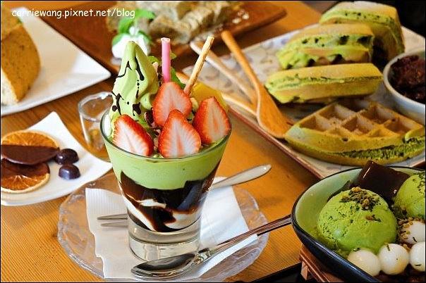 【台中下午茶】初綠和風定食。午后來份抹茶,體驗日式風情,生意盎然,環境雅緻 @飛天璇的口袋