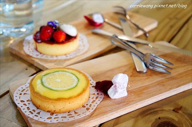 【台中蛋糕甜點】菈唯思法式甜點.La Vie Douce。檸檬塔酸不溜丟,但是好吃又驚艷,逢甲商圈美食推薦! @飛天璇的口袋