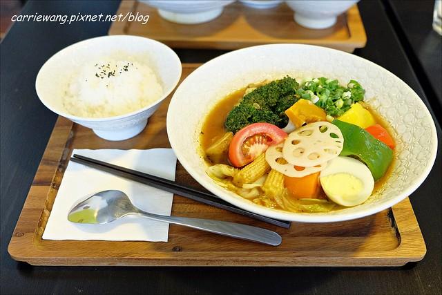 【台中日式料理】心湯咖哩。來自北海道札幌的好味道,夏日炎炎吃咖哩正開胃 @飛天璇的口袋