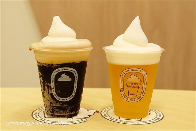【台中啤酒餐廳】一番搾KIRIN ICHIBAN GARDEN@台中店。 自已動手做two tone,和朋友一起享受歡樂氣氛 @飛天璇的口袋