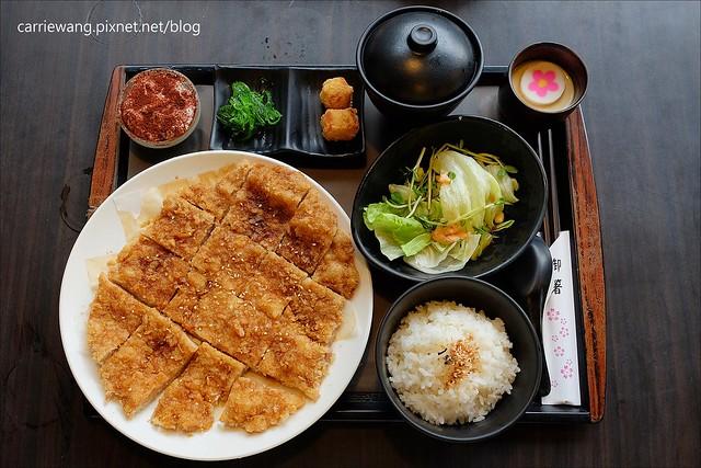 【嘉義美食推薦】櫻井家.京都風味日式定食屋。複合式餐廳,豬排比臉還要大,餐點份量多,平價CP值又高 @飛天璇的口袋