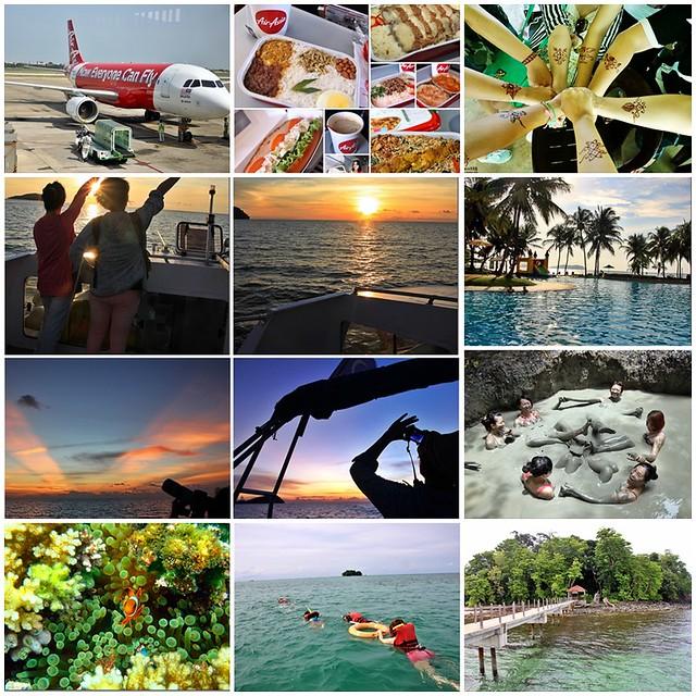 沙巴5天4夜行程規劃總表:搭乘亞航Air Asia飛到美麗海島沙巴~夕陽海景、美食小吃、逛街購物還有按摩SPA @飛天璇的口袋