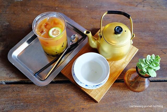 【新竹下午茶推薦】百分之二咖啡(2/100 Café)。一百種味道二店,在復古雜貨風老宅喝下午茶,體驗文青的感覺 @飛天璇的口袋