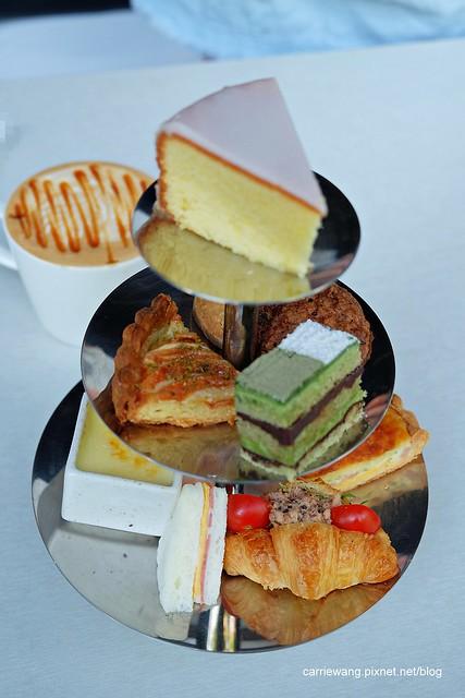 【台中下午茶推薦】印月創意東方宴。在東方色彩餐廳享受奢華的英式下午茶,環境寬敞舒適,可以放鬆一個午后 @飛天璇的口袋