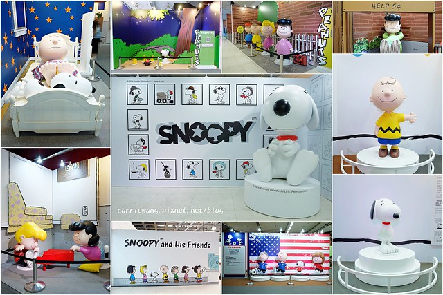 【展覽活動分享】走進花生漫畫:Snoopy 史努比65週年巡迴特展@台中世貿中心三樓展覽館(展期從9/27~至11/30)+周邊10間美食餐廳推薦 @飛天璇的口袋
