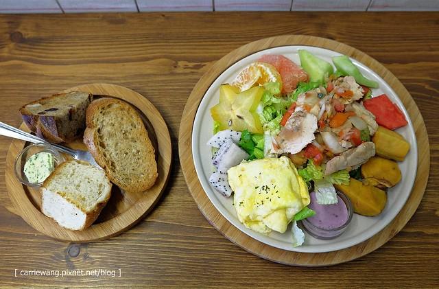 【台中早午餐】米亞諾輕食.午茶.早午餐.手工抹醬。餐點澎派又吸睛,食材養生又好吃,CP值很高 @飛天璇的口袋