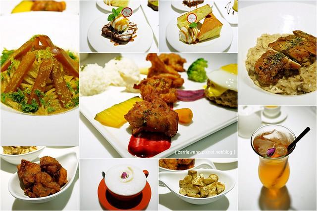 【台中義大利麵】Ping 18 Bistro 新日法輕食。品嚐藍帶主廚異國料理的好手藝,食材用心餐點選擇性多,下午茶甜點也滿好吃的 @飛天璇的口袋