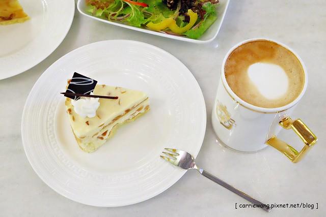 【台北下午茶推薦】Kool Caffe 義式咖啡廳.酷咖啡。文藝復興風格的裝潢,花神咖啡館的茶葉,勞斯萊斯級的咖啡機,彷佛置身義大利般享受貴婦下午茶 @飛天璇的口袋