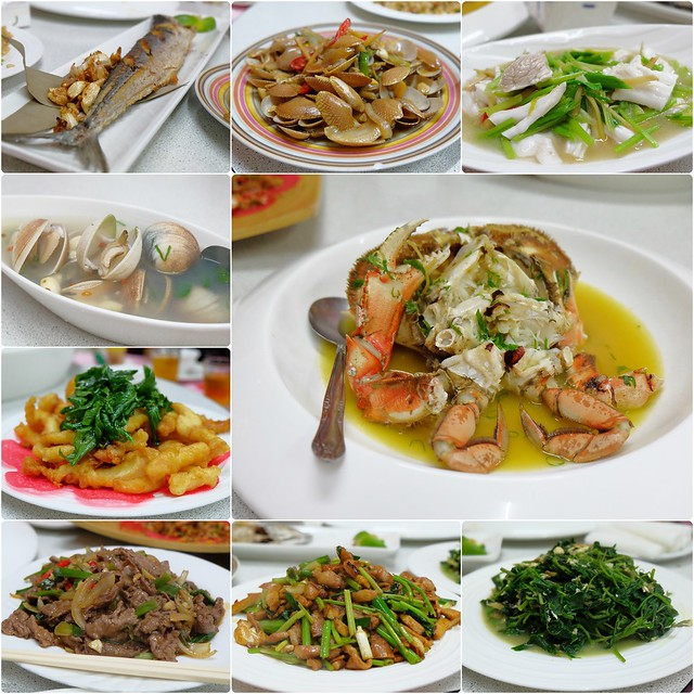 花蓮美崙海鮮料理餐廳:在地人帶路品嚐現撈的海鮮料理,有隱藏版食材可以嚐鮮,人多的話點合菜更划算 @飛天璇的口袋