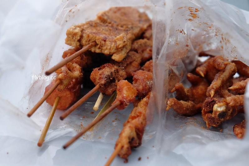 林家烤肉屋:草屯大觀市場超人氣烤肉攤,推薦米血、豆皮、七里香,隱藏版炸雞排不定期出現 @飛天璇的口袋