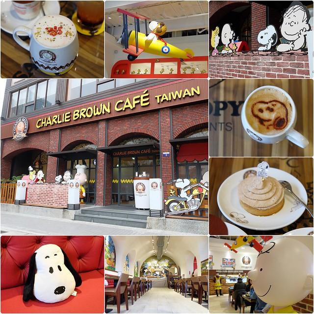 查理布朗咖啡.Charlie Brown Cafe┃台中史努比餐廳:位於秋紅谷正對面鄰近朝馬車站,環境很漂亮也很好拍,餐點可愛觀賞性大於美味性 @飛天璇的口袋