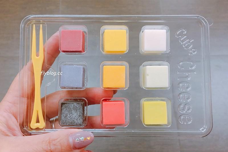 彩虹方塊起司.Rainbow Cube Cheese┃全家便利商店Family Mart限定,韓國原裝進口彩虹方塊,9種口味色彩繽紛 @飛天璇的口袋