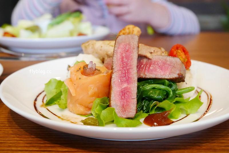 Aiyo Cafe:早午餐吃的到三層海陸套餐,人氣早午餐店Hoyo Cafe新品牌,鄰近台中火車站早午餐店 @飛天璇的口袋