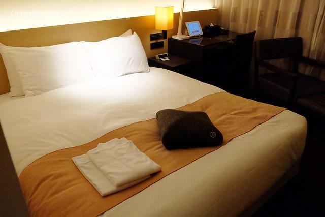 博多Forza飯店.Hotel Forza Hakata┃博多住宿推薦:地點位子超方便,博多車站步行2分鐘,房間附免費Wi-Fi上網,還有雀巢咖啡膠囊機和按摩枕 @飛天璇的口袋