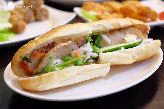 中南半島越南料理┃台中南區美食:位於忠孝夜市越南料理餐廳,口味道地平價好吃,再訪重溫記憶中的好味道 @飛天璇的口袋