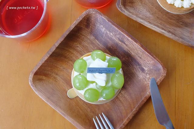 P&J's Pâtisserie 甜點工作室┃台中西區美食:隱身於模範街新開的手作甜點店,以銷售塔類產品為主,價格親民深受學生族群的喜愛 @飛天璇的口袋