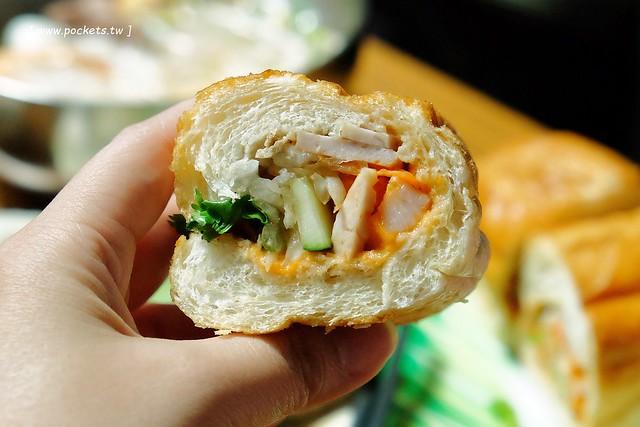 娟越南小吃:隱藏在南屯市場內的越南料理店,內行人都知道的美食,好吃清爽又不貴,每天都有不同的越南限定 @飛天璇的口袋
