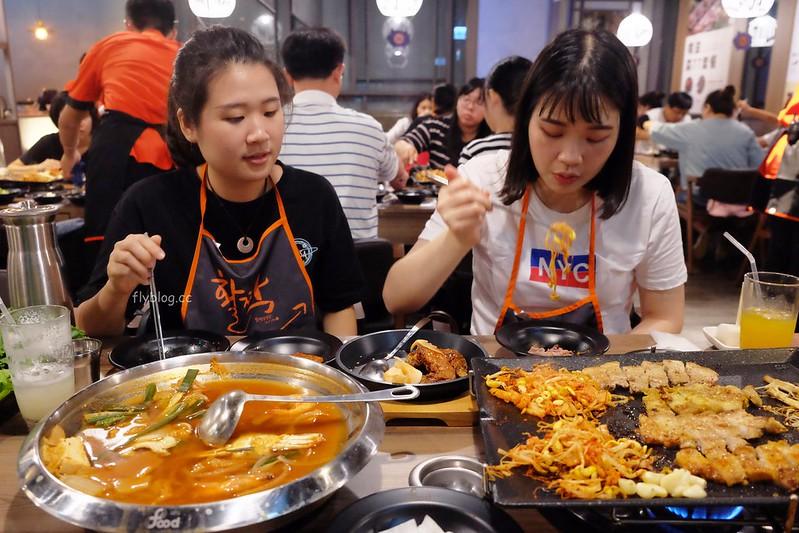 八色烤肉┃台中北區:韓國來的八色烤肉四號店進駐台中中友百貨,開幕期間消費滿$300元送太陽花豬後腿肉 @飛天璇的口袋
