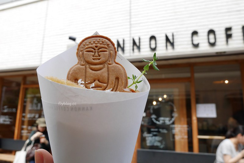 KANNON COFFEE┃鎌倉美食:鎌倉限定超療癒大佛可麗餅,鎌倉長谷站走路5分鐘,距離鎌倉大佛高德院也很近 @飛天璇的口袋