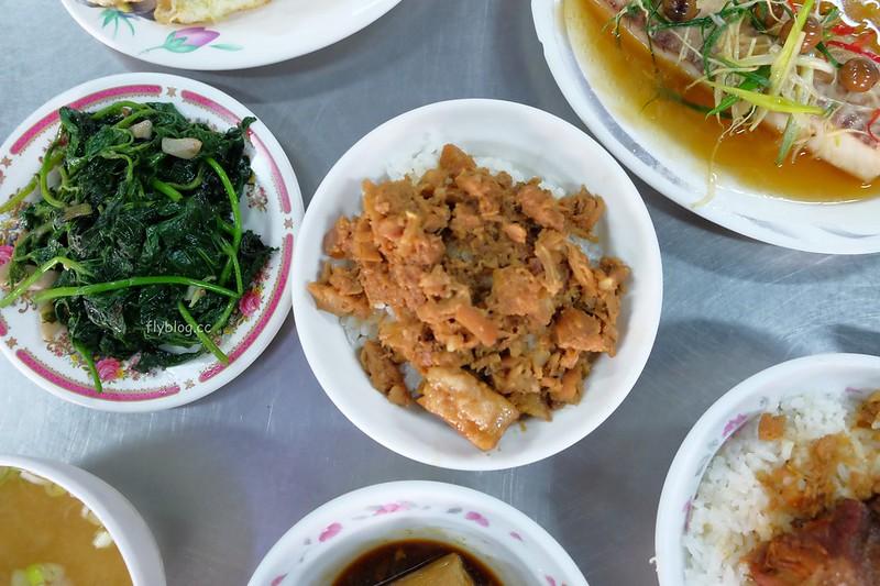 山河魯肉飯┃台中中區:第二市場超人氣美食,用餐時間請做好排隊準備 @飛天璇的口袋