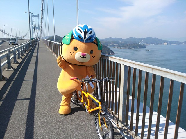 日本中國旅遊┃尾道景點推薦:瀨戶內島波海道從愛媛騎自行車到廣島,全日本最美的自行車道,日劇心有所屬拍攝地點 @飛天璇的口袋