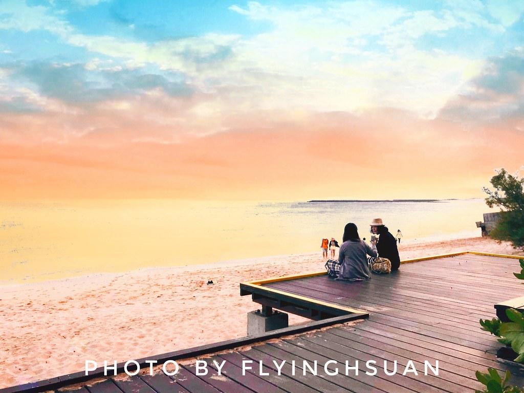 林投公園x及林春咖啡館:戶外平台坐擁大海美景,澎湖超療癒下午茶景點 @飛天璇的口袋
