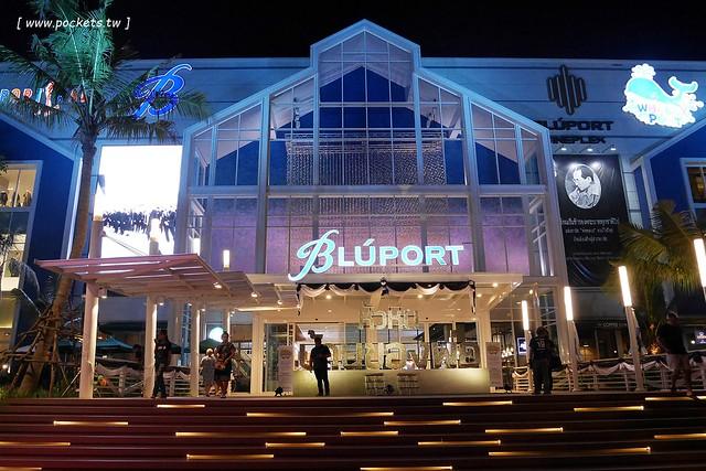 泰國華欣自由行┃BLUPORT Hua Hin Resort Mall:華欣地區最新地標,2016年10新開幕的大型購物商場,集合美食餐廳、逛街購物和兒童遊戲區 @飛天璇的口袋
