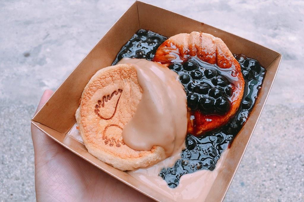 美好年代 Belle Époque┃台中西區:珍珠奶茶鬆餅進駐台中,天使的翅膀IG打卡熱門景點 @飛天璇的口袋