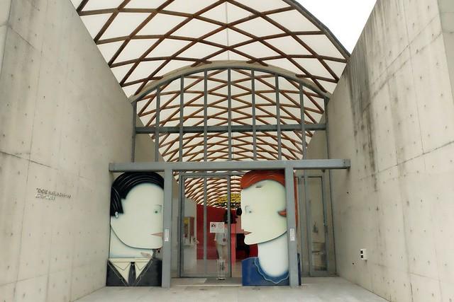 大三島美術館 TOKORO MUSEUM OMISHIMA┃今治市景點推薦:與大自然融為一體的美術館,緊鄰大三島瀨戶內海,有可愛的kissing door @飛天璇的口袋