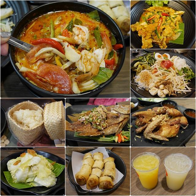 ลาวญวน Laos Yuan Restaurant┃華欣美食推薦:泰國知名連鎖餐廳,位於BLUPORT Hua Hin Resort Mall一樓,餐點平價又美味 @飛天璇的口袋